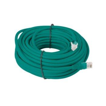 Пач кабел Lanberg PCF5-10CC-2000-G, FTP, cat.5e, 20м, зелен image