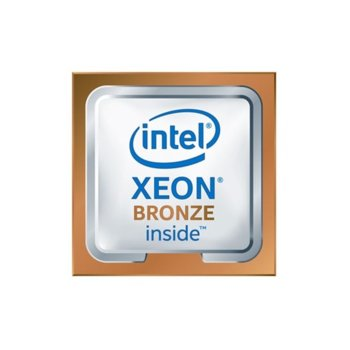 Процесор Intel Xeon Bronze 3104, шестядрен (1.70 GHz, 8.25MB, LGA3647) Box image