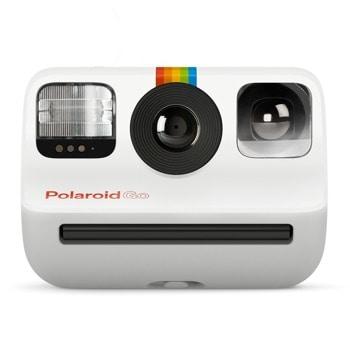 Фотоапарат Polaroid Go (бял), моментални снимки, светкавица, 750mAh батерия, USB image