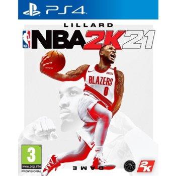 Игра за конзола NBA 2K21, за PS4 image