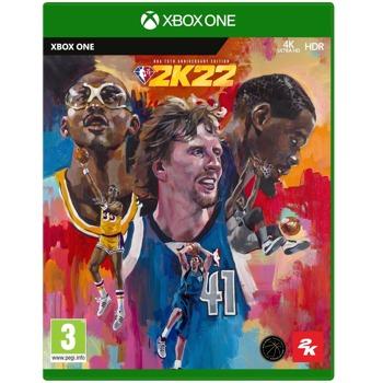 Игра за конзола NBA 2K22 - 75th Anniversary Edition, за Xbox One image
