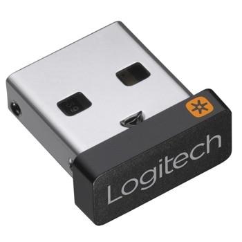 Ресийвър Logitech USB Unifying Receiver 910-005931, до 6 устройства едновременно, 2.4GHz, до 10м обхват image