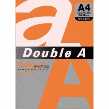 Хартия Double A 32407, A4, 80 g/m2, 100 листа, шафран image