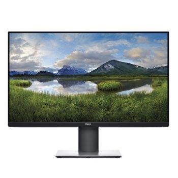"""Монитор Dell P2719H, 27"""" (68.58 cm) IPS панел, Full HD, 5ms, 1 000:1, 250cd/m2, DisplayPort, HDMI, VGA, USB image"""