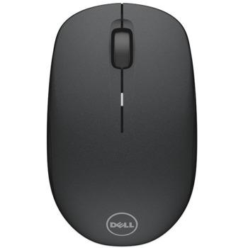 Мишка Dell WM126, безжична, оптична (1000 dpi), черна, USB image