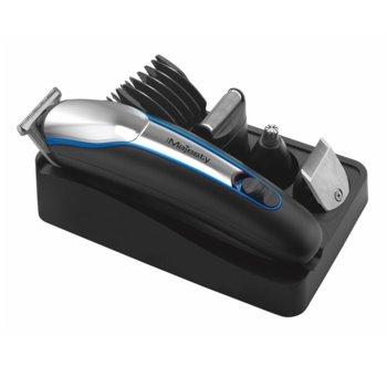 Mашинка за подстригване Hair Majesty HM-1021, 5 степени на гребена за подстригване, 4 степени на гребена за брада, работа на батерия и ток. до 45 мин. подстригване с едно зареждане image