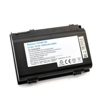 Батерия (заместител) за лаптоп Fujitsu LifeBook A1220/A6210/AH550/E8410/E8420/N7010, 6cell, 10.8V, 4400mAh image