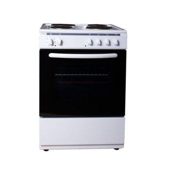Готварска печка Crown 6410A, 4 нагреавателни зони, 56 л.вместимост на фурната, бяла image