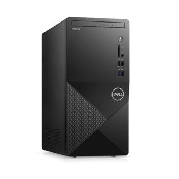Настолен компютър Dell Vostro 3888 MT (N113VD3888EMEA01_2101_UBU), шестядрен Comet Lake Intel Core i5-10400 2.9/4.3 GHz, 8GB DDR4, 1TB HDD, 4x USB 3.1, клавиатура и мишка, Linux image