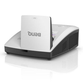 Проектор BenQ MH856UST, DLP, FullHD (1920x1080), 10 000:1, 3500 lm, HDMI, VGA, RCA, Audio in/out, LAN, RS232, USB  image