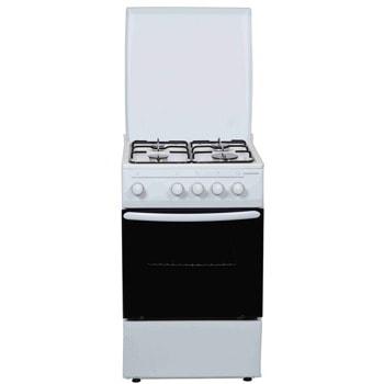 Готварска печка Heinner HFSC-V50WH, 4 нагревателни зони, 52л. обем, бял image