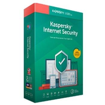 Софтуер Kaspersky Internet Security Eastern Europe Edition Base License Pack, лиценз за 1 година, 5 потребителя, Windows/macOS/Android/iOS image