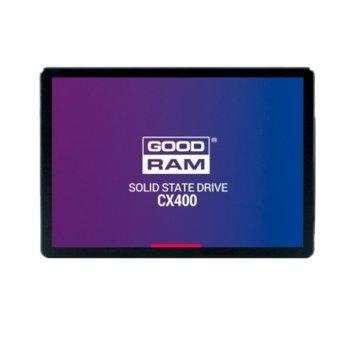 """Памет SSD 512GB Goodram CX400, SATA 6 Gb/s, 2.5"""" (6.35cm), скорост на четене 550 MB/s, скорост на запис 490 MB/s image"""