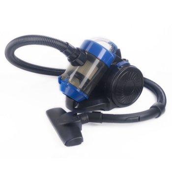 Прахосмукачка Sapir SP 1001 AW, ръчна, 800W, 2 л. капацитет на контейнера, HEPA филтър, синя image