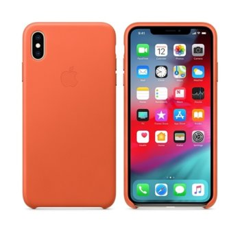 Apple iPhone XS Max Leather Case - Sunset product