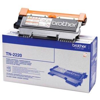 Тонер касета за Brother HL 2240/2250, Black - P№ TN2220 - заб.: 2600 брой копия image