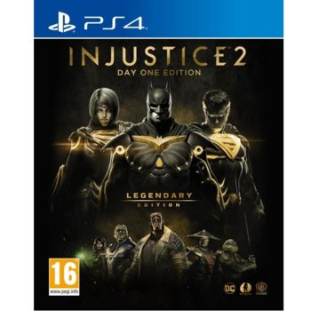 Injustice 2 Legendary Steelbook Edition (PS4) product