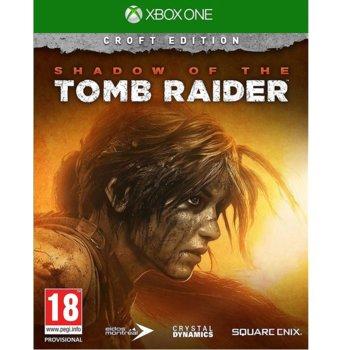 Игра за конзола Shadow Of The Tomb Raider Croft Edition, за Xbox One image