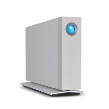 Твърд диск 6TB, LaCie d2 STEX6000200, външен, Thunderbolt 2, USB 3.0, сребрист image