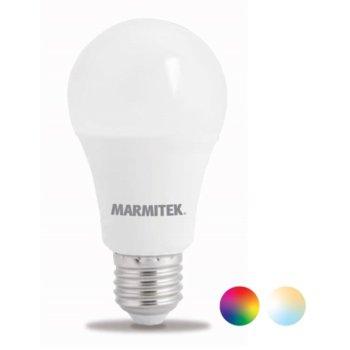 Смарт крушка Marmitek Glow MO, Wi-fi, E27, A60, 2700-6500K, 9W, 806 lm, RGB 16м цвята image