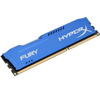 Памет 8GB DDR3 1600MHz Kingston HyperX Fury (HX316C10F/8) image