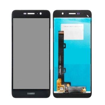 """Дисплей за Huawei Y6 Pro 5.0""""(12.7 cm), LCD Original, с тъч, черен image"""