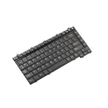 Клавиатура за Toshiba Equium A100 Series/A70 Series/M40 Series/Qosmio E10 series/F10 Series/F25 Series/G15-AV501/G30 Series/Satellite 1135 Series/1400-S151/1405-S151, оригинална, US, черна image
