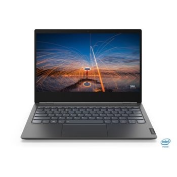 "Лаптоп Lenovo ThinkBook Plus (20TG000RBM_5WS0A23681), четириядрен Comet Lake Intel Core i5-10210U 1.6/4.2 GHz, 3.3"" (33.78 cm) Full HD IPS Display & 10.8"" (27.43 cm) Full HD E Ink Anti-glare Display, (HDMI), 8GB DDR4, 256GB SSD, Windows 10 Pro image"
