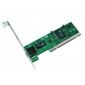 Мрежови адаптер L8139D 10/100M, от PCIe 2.1 към 1x RJ-45(ж) image