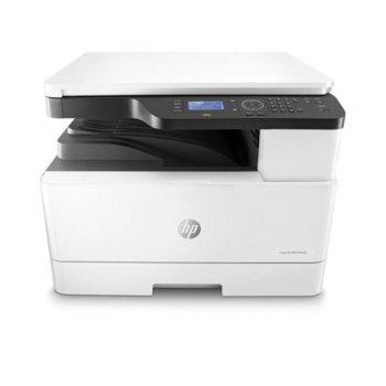 Мултифункционално лазерно устройство LaserJet MFP M436dn, монохромен принтер/копир/скенер, 1200x1200dpi, 23 стр/мин, USB 2.0, LAN, двустранен печат, A3 image