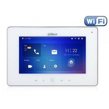 "Монитор Dahua VTH5221DW, 7""(17.78 cm) TFT Touchscreen, WSVGA (1024x600), Wi-Fi, RJ-45, аудио,  image"