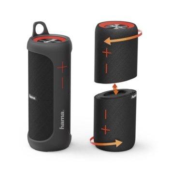Тонколона Hama Soundcup-D, 2.0, 10W, Bluetooth, micro-USB, батерия 3000mАh, черна image