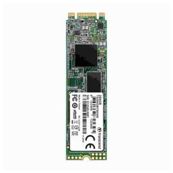 Памет SSD 256GB Transcend 830S, SATA III 6Gb/s, M.2 (2280), скорост на четене 560 MB/s, скорост на запис 520 MB/s image
