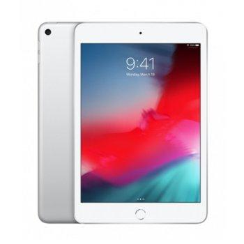 "Таблет Apple iPad Mini 5 (MUXE2HC/A)(сребрист), LTE, 7.9"" (20.07 cm), осемядрен Apple A12 Bionic, 3GB RAM, 256GB Flash памет, 8.0 & 7.0 MPix камера, iOS, 300g image"