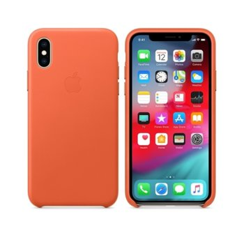 Apple iPhone XS Leather Case - Sunset product