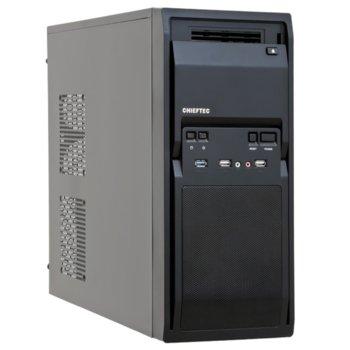 Кутия Chieftec LG-01B-OP, ATX/mATX, 2x USB 3.0, черен, без захранване, по поръчка image