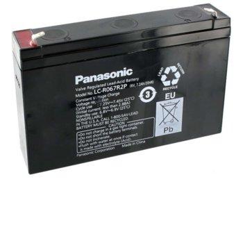 Акумулаторна батерия Panasonic LC-R067R2P, 6V, 7.2Ah, VRLA image