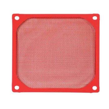 Филтър за вентилатори, Evercool FGF-90/M, 92mm, червен image