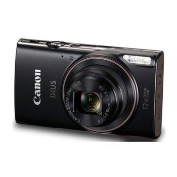 """Фотоапарат Canon IXUS 285(черен), 20.2 Mpix, 3.0"""" (7.62cm), HDMI Micro(TypeD), Wi-Fi, USB Mini(TypeB), SDXC слот image"""