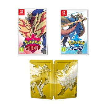 Игра за конзола Pokemon Sword and Shield Double Pack, за Nintendo Switch image