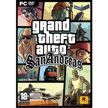 Grand Theft Auto: San Andreas product