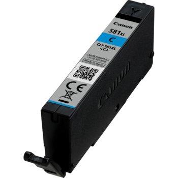 Глава за Canon PIXMA TS9155/TS9150/TS8150/TS8151/TS8152 - CLI-581 XL- Cyan - 8.3ml image