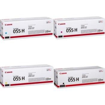 Тонер касета за Canon LBP66x series, MF74x series, Yellow, - CRG-055H Y - Canon - Заб.: 5900 k image