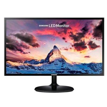 """Монитор Samsung S27F354FHU (LS27F354FHUXEN), 27"""" (68.58cm) PLS панел, FullHD, 4ms, 5 000 000:1, 250cd/m2, HDMI, D-SUB, AMD FreeSync image"""