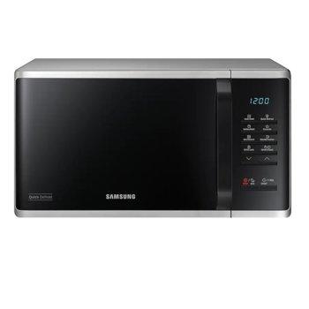 Микровълнова фурна Samsung MS23K3513AS/OL, електронно управление, 800W, 23л. обем, сребриста image