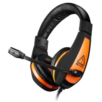 Слушалки Canyon CND-SGHS1, микрофон, 20-20 kHz, гейминг, 2m кабел, черни  image