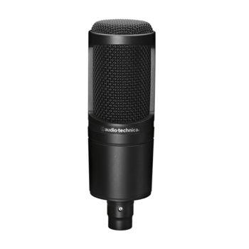 Микрофон Audio-Technica AT2020, кондензаторен, кардиоиден, 20 Hz - 20000 Hz, 3-pin XLRM, черен image
