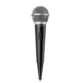 Микрофон Audio-Technica ATR1200x, вокален динамичен еднопосочен, 80–12,000 Hz, 500 ohms, 3.5мм жак, черен image