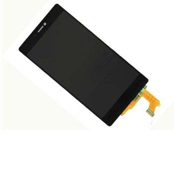 Дисплей за Huawei Ascend P8, LCD Original, с тъч, черен image