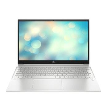 "Лаптоп HP Pavilion 15-eh0029nu (2U2D6EA)(сребрист), осемядрен AMD Ryzen 7 4700U 2.0/4.1GHz, 15.6"" (39.62 cm) Full HD IPS Anti-Glare Display, (HDMI), 16GB DDR4, 512GB SSD, 1x SuperSpeed USB Type-C, No OS image"